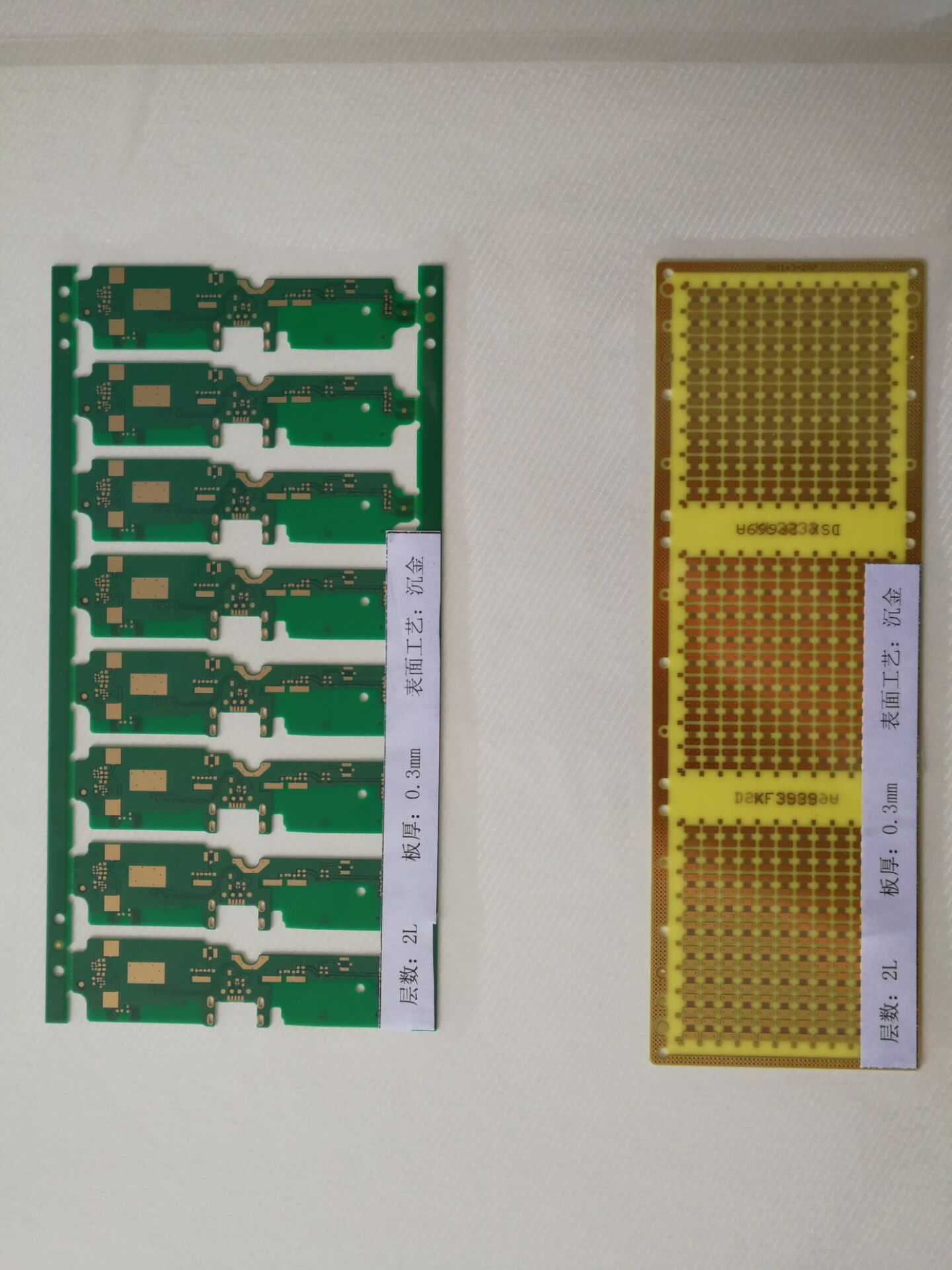 Extra Thin Printed Circuit Board 02mm 03mm Fr4 Pcb Ultra Boards Finished Assembly 1